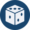 business, cash, currency, dice, finance, money icon