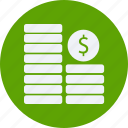 business, cash, coin, currency, doller, finance, money icon