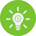 business, cash, currency, finance, idea, money icon