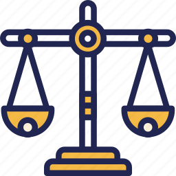 balance, finance, fund, scales icon