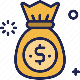 bag, banking, earning, finance, investment, money icon