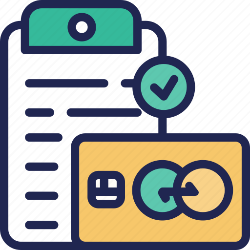 card, credit, data, document, finance, fund, loan icon