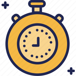 clock, finance, fund, investment, profit, time icon