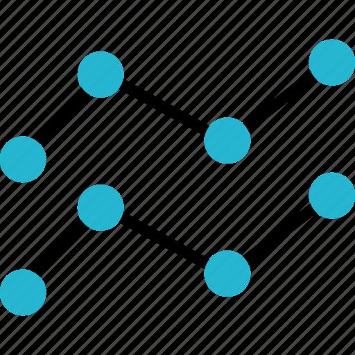 analytics, chart, data, finance, money, online icon