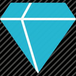 diamond, expensive, finance, money, online icon