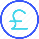 25px, coin, iconspace, poundsterling icon
