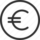 25px, iconspace, coin, euro