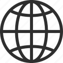 25px, globe, iconspace icon