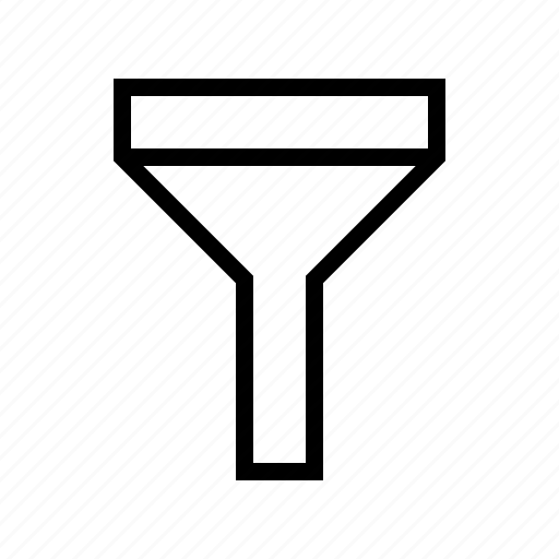 Cash, exchequer, filter, finance, funnel, money icon - Download on Iconfinder