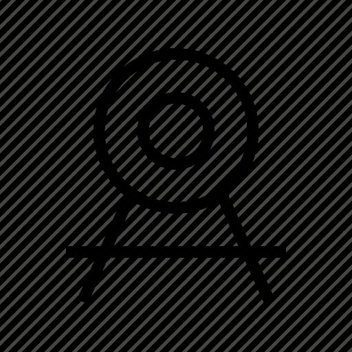 cash, exchequer, finance, money, target icon