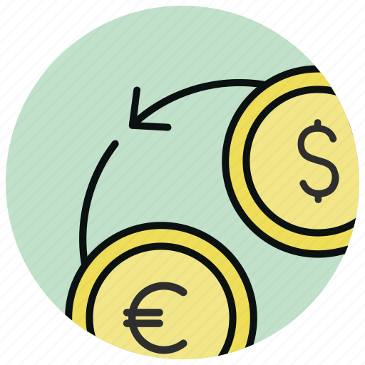 currency, exchange, foreign, forex, swap, trade, trading icon