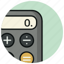 business, calculations, calculator, finance, math, numbers icon