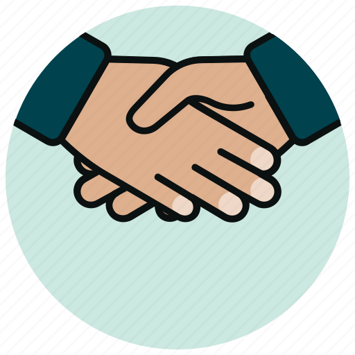 agreement, business, deal, finance, handshake, partnership icon