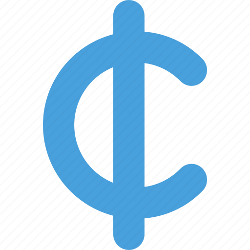 cent, coin, currency, money, symbols icon