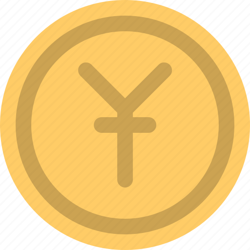 cash, coin, currency, money, yuan icon