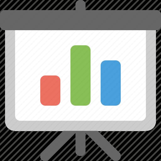 bar chart, business, chart, presentation, report icon