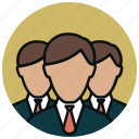 account, buyers, customers, group, people, profiles, staff icon
