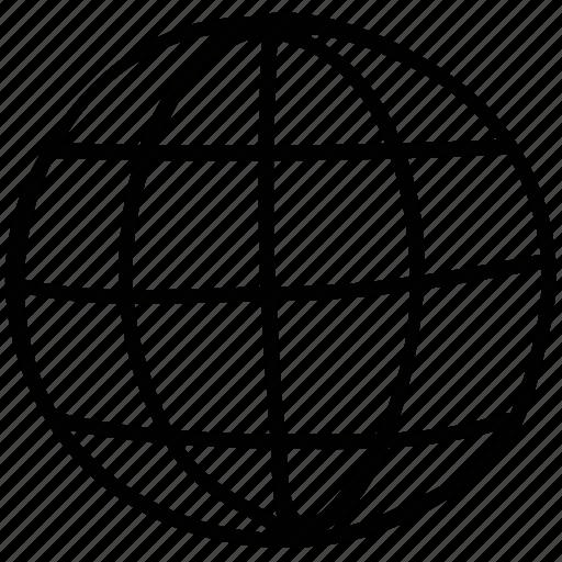 global, globe, international, world icon
