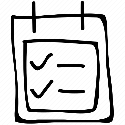 list, plan, schedule, tasks icon