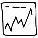 business, diagram, finance, report icon