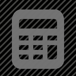 accounting, banking, calculator, calculus, finance, mathematics icon