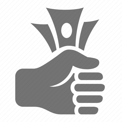 cash, finance, fist, hand, investment, money, pay icon