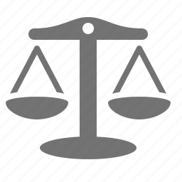 balance, justice, law, legal, scales, trade, weigh icon