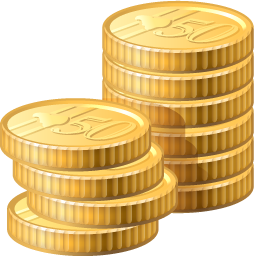 business, cash, change, coins, funding, money, payment icon