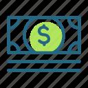 cash, dollar, financial, money icon