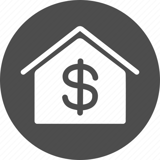 bank building, company, corporation, finance, property, real estate, rent icon