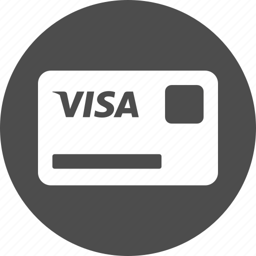 banking card, credit card, finance, money, payment, shopping, visa icon