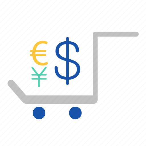 cart, currency, delivery, exchange, finance, send icon