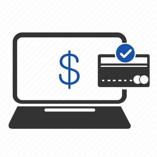 accept, computer, credit card, financial, pay, payment, shopping icon