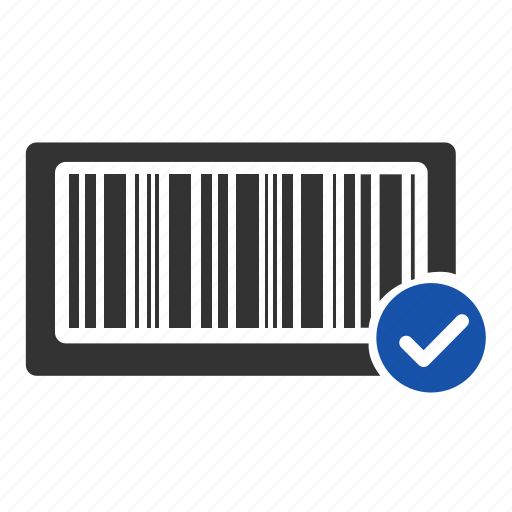 accept, bar code, barcode, financial, payment, scan, shopping icon