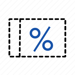 discount, financial, payment, percentage, percentage sign icon