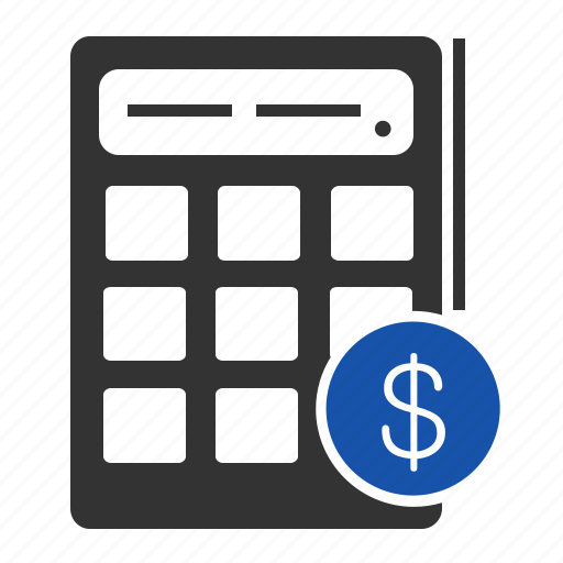 banking, business, calculator, currency, finance, math, money icon
