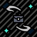 business, fair, work, job, task icon