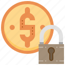 banking, financial, investment, protection, security icon
