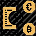 commerce, currency, exchange, market, smartphone