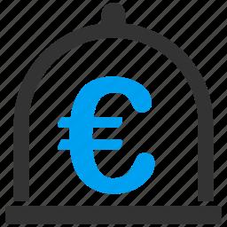 banking, deposit, euro, money, savings, standard, storage icon