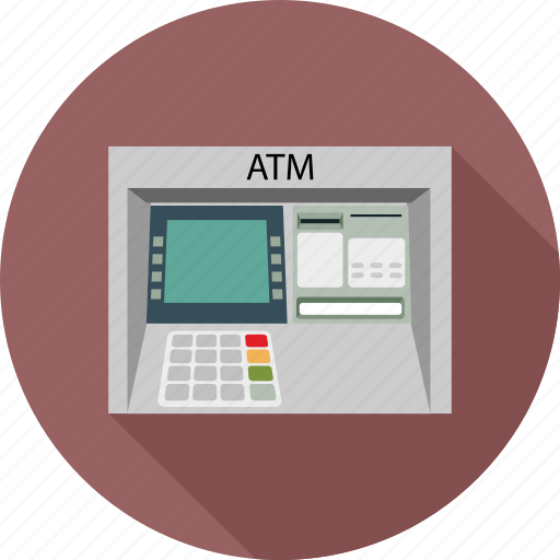 atm, automated teller machine, money, withdraw icon