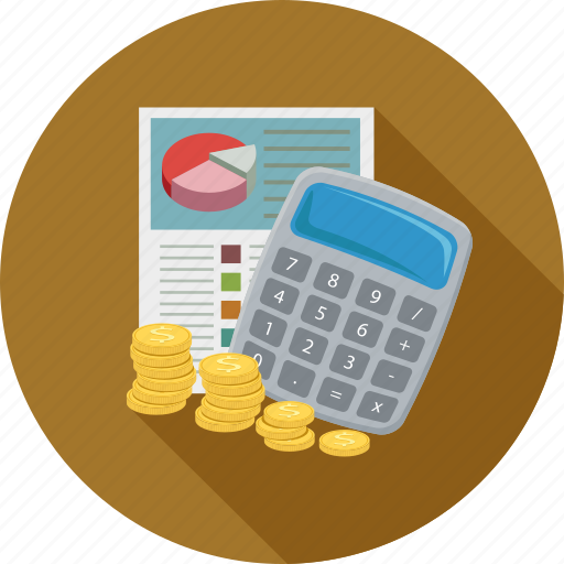 banking, budget, cost estimate, finance icon