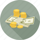 cash, currency, income, money icon