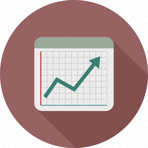 chart growth, growth, line chart, rising chart, sales icon