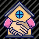 deal, property, handshake, buy house, house
