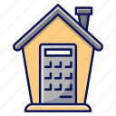 buy, calculator, house, real estate, home