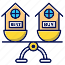 property, rent or buy, real estate, house, home