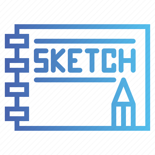 Drawing, notebook, pencil, sketch icon - Download on Iconfinder