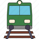 holidays, railroad, railway, tourism, train, travel, vacation icon