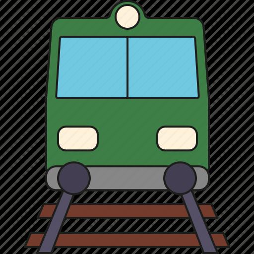 holidays, railroad, railway, tourism, train, travel, vacation icon